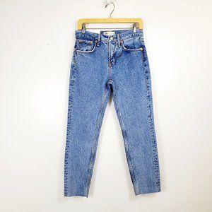 Zara Denim Jeans The Cigarette Arizona Blue 4 NWT